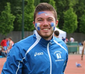 Maxime Deshogues bat son record au javelot