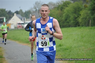 Gillaume COURTOIS a couru le 10 km de Betton